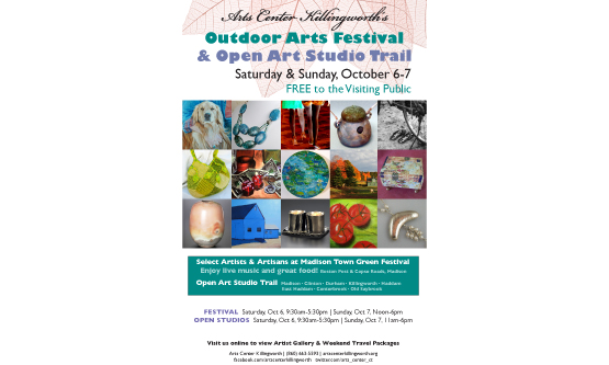 Autumn Art Trail Poster
