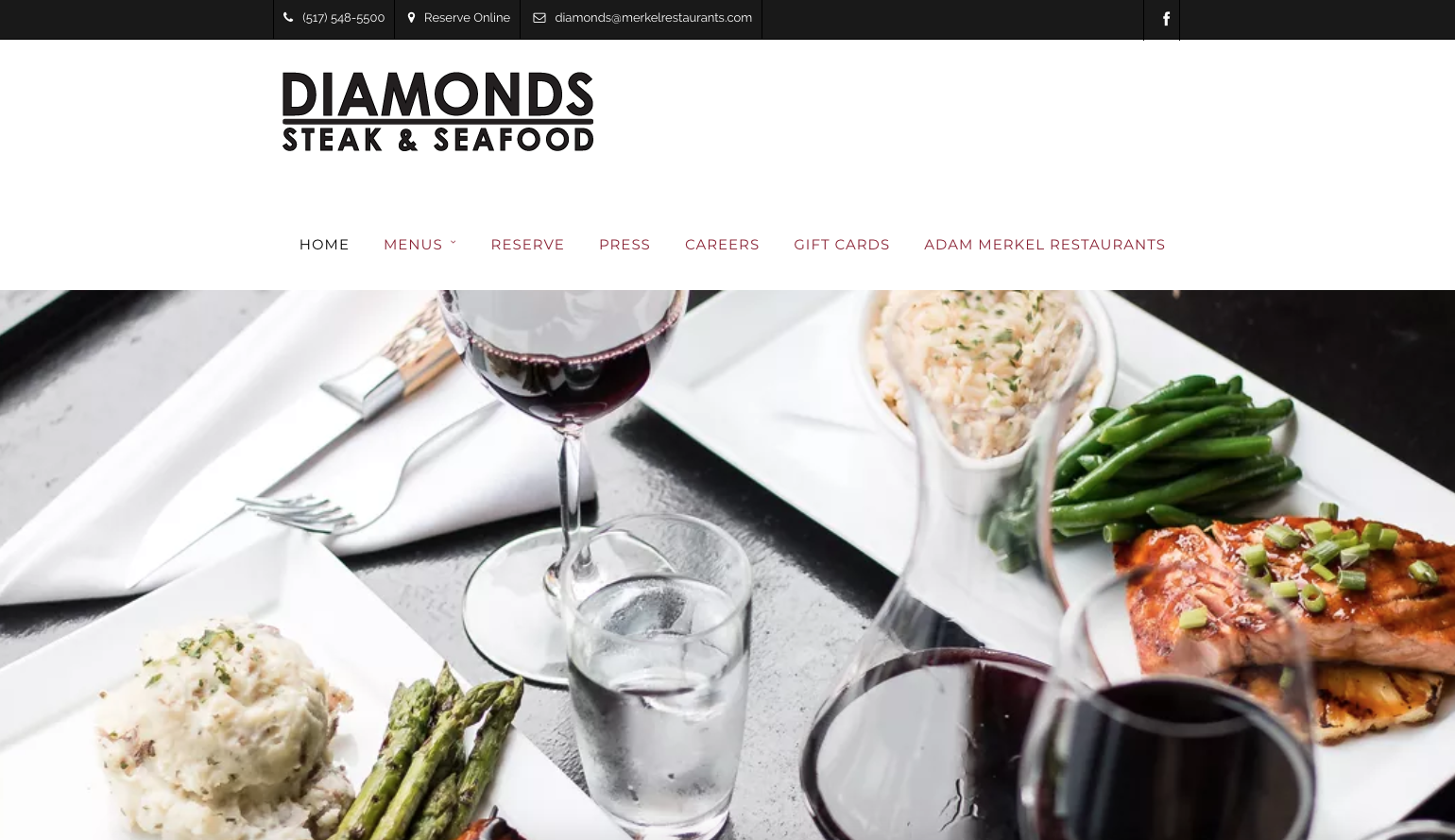 Diamonds Steaks and Seafood