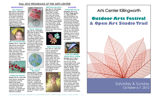 Autumn Art Trail and Festival Program