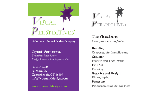 Visual Perspectives Business Card