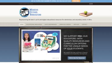 mission-driven-resources-website-design