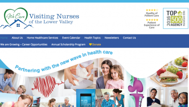 visiting-nurses-website-design