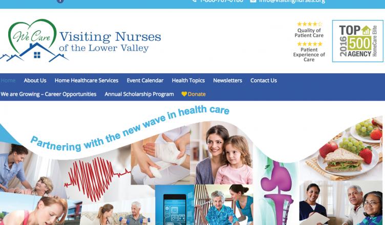 visiting-nurses-website-design